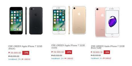 iPhone 7 and 7 Plus Price at Lazada Philippines - Gizmo Manila