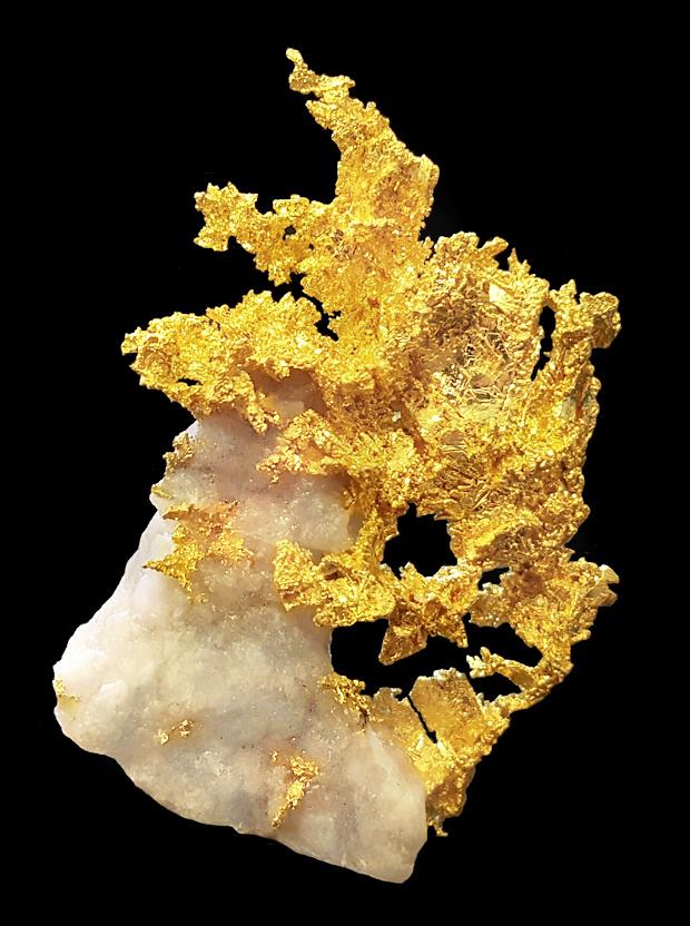 Ouro | Pepitas de Ouro Bruto na Pedra