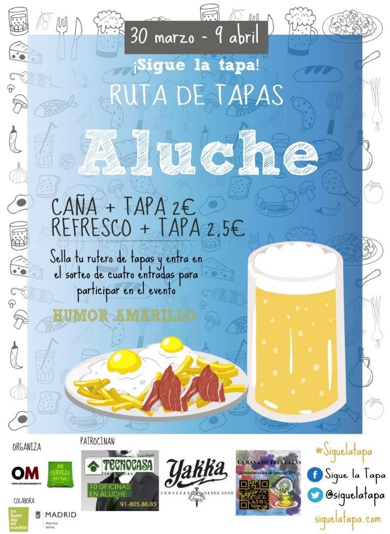 Ruta De Tapas Aluche 30 Marzo 9 Abril 2017 Peri Dico Distrito  ~ Restaurante Chino Villaverde Bajo