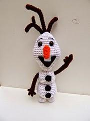 Olaf the Snowman Crochet Pattern | AllFreeCrochet.com | 240x180