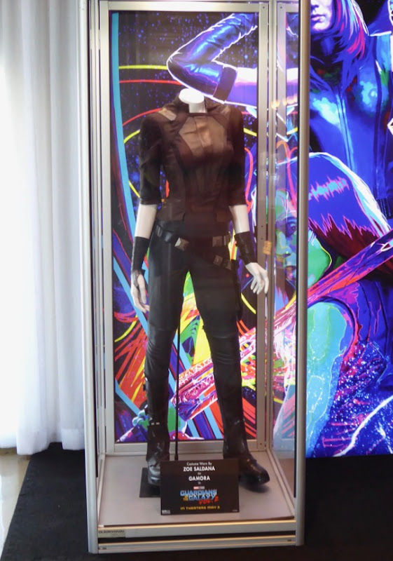 Gamora Guardians of the Galaxy 2 movie costume
