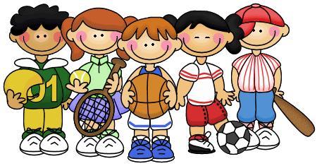 Resultado de imagen de niños deporte dibujo