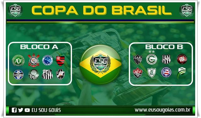 Sorteio nesta sexta define adversário do Goiás nas oitavas da Copa do Brasil