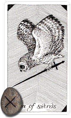 Wild Unknown Tarot Son of Swords Gebo