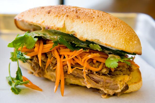 Pulled Duroc Pork Sandwich