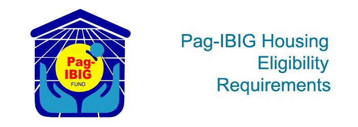 Pag-IBIG Housing Requirements