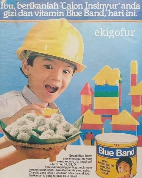"Siapa Sangka Anak Kecil Bintang ""Blue Band"" Ini Kini Menjadi Artis Hijrah"