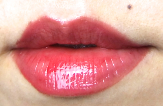 Chanel Rouge Allure Extrait De Gloss Emoi lip swatch