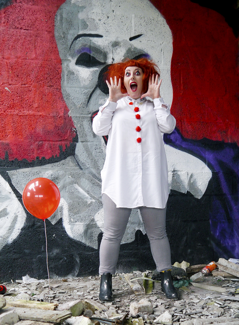 Easy Pennywise IT costume
