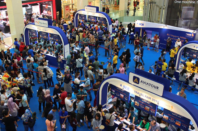 Berburu tiket SQ di BCA-Singapore Airlines Travel Fair 2018