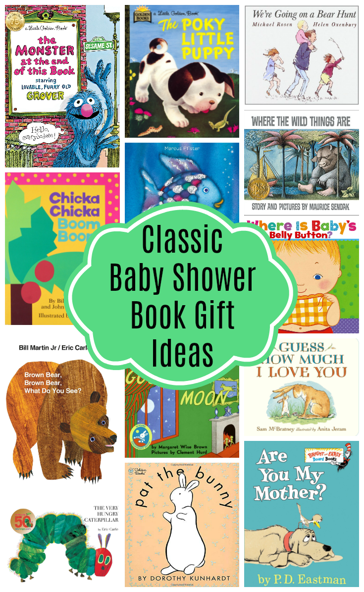 Classic Books for Baby Shower Gift Ideas