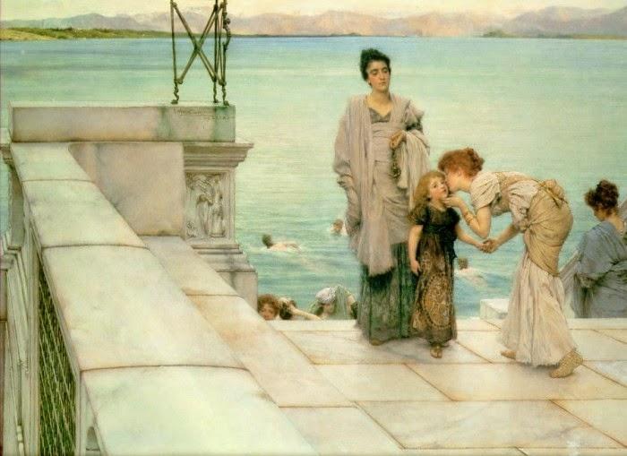 O Beijo - As mais belas pinturas de Lawrence Alma-Tadema - (Neoclassicismo)