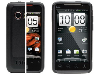 OtterBox released Commuter Series cases for HTC DROID Incredible and HTC EVO 4G