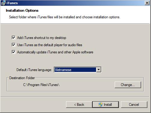 Tải iTunes mới nhất cho Máy tính win 7, 8, 8.1, win xp, 10 cực dễ dàng g