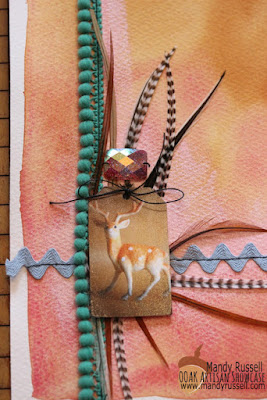 Mandy Russell, Stitched Abundance Art Journal, OOAK Artisans