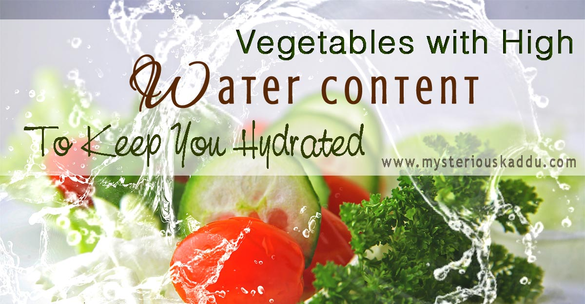 14 Water-Rich Vegetables That Help You Stay Hydrated | Summer Veggies With High Water Content