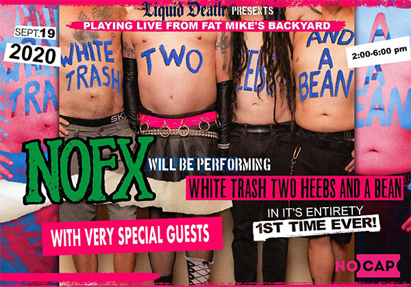 "NOFX perform entire ""White Trash Two Heebs And A Bean"" album live"