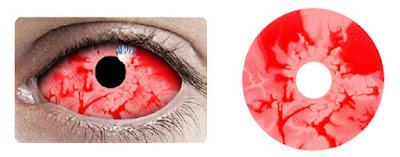 Red Zombie Sclera 2242