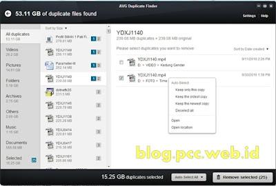 AVG PC Tune Up, Software Terbaik untuk Mencari Duplikat File