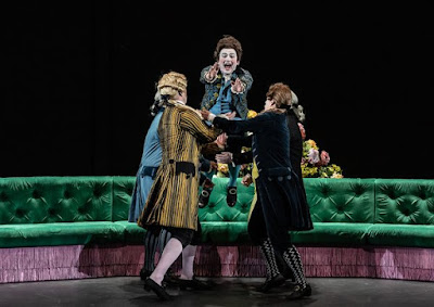 Handel: Berenice - James Laing, Patrick Terry, Jacquelyn Stucker - London Handel Festival, Royal Opera -(C) ROH 2019 Photo Clive Barda*