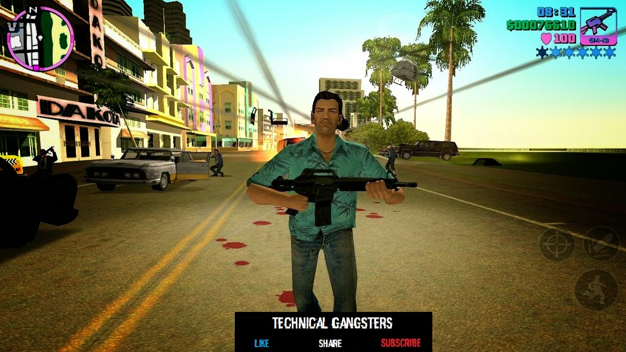 GTA VICE CITY APK + OBB FREE DOWNOAD FOR ANDROID - Ocean Of Apk Mods