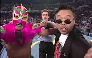 WCW WORLD WAR 3 1996 - Ultimo Dragon (w/ Sonny Onoo) bt. Rey Mysterio Jr.