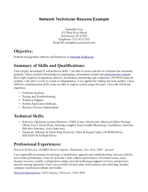 Pharmacy Tech Resume Samples 2