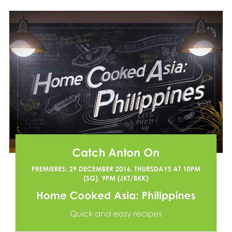 Food hero chef anton amoncios home cooked asia philippines on it will feature chef anton cooking traditional filipino recipes to serve as introductory journey for people who want to know about filipino food forumfinder Image collections