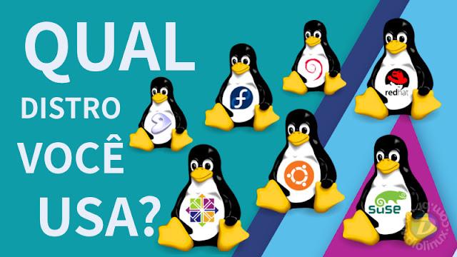 Qual distribuição Linux você usa?