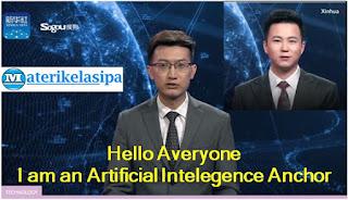 Pembawa Berita Kecerdasan Buatan (Artificial Intellegence) TV Virtual Anchor Xinhua