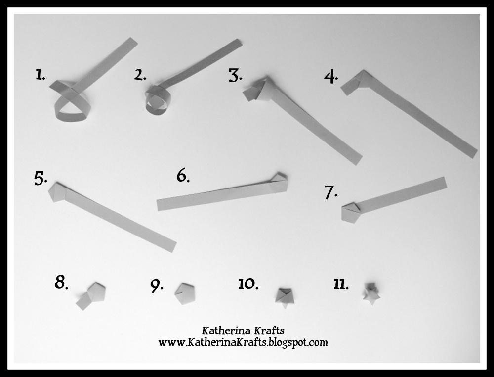 Katherina Krafts: How to Make Origami Lucky Stars - photo#2