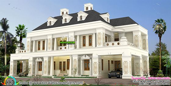 460 sq-M Colonial home