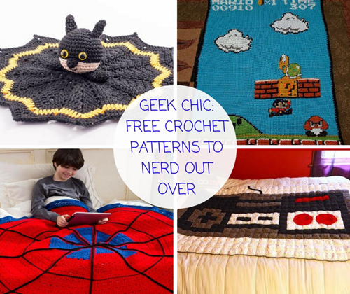 Crochet Blanket Patterns to Nerd Out Over
