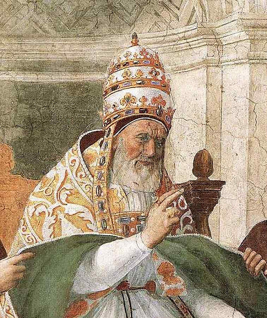 Gregório IX aprova os Decretais, Rafael, Stanza della Segnatura, Roma