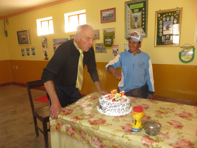Geburtstagsbräuche im Hochland von Bolivien