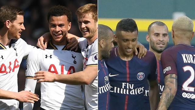 PSG vs Tottenham Hotspur en vivo