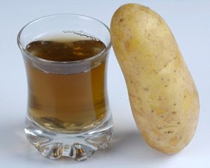 potato juice for stretch marks