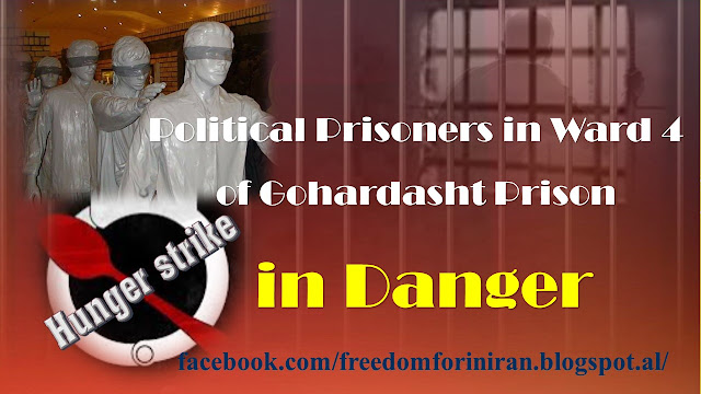 Political Prisoners in Ward 4 of Gohardasht Prison in Danger
