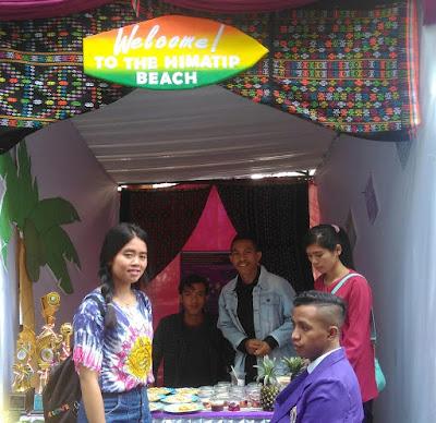 Usung Tema Generasi Mileneal,TIP Desain Bazar Model Pantai