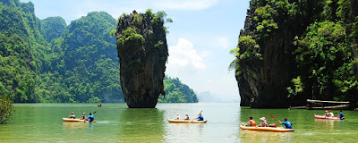 James Bond Island Canoe Tour in Phang Nga Bay, Thailand