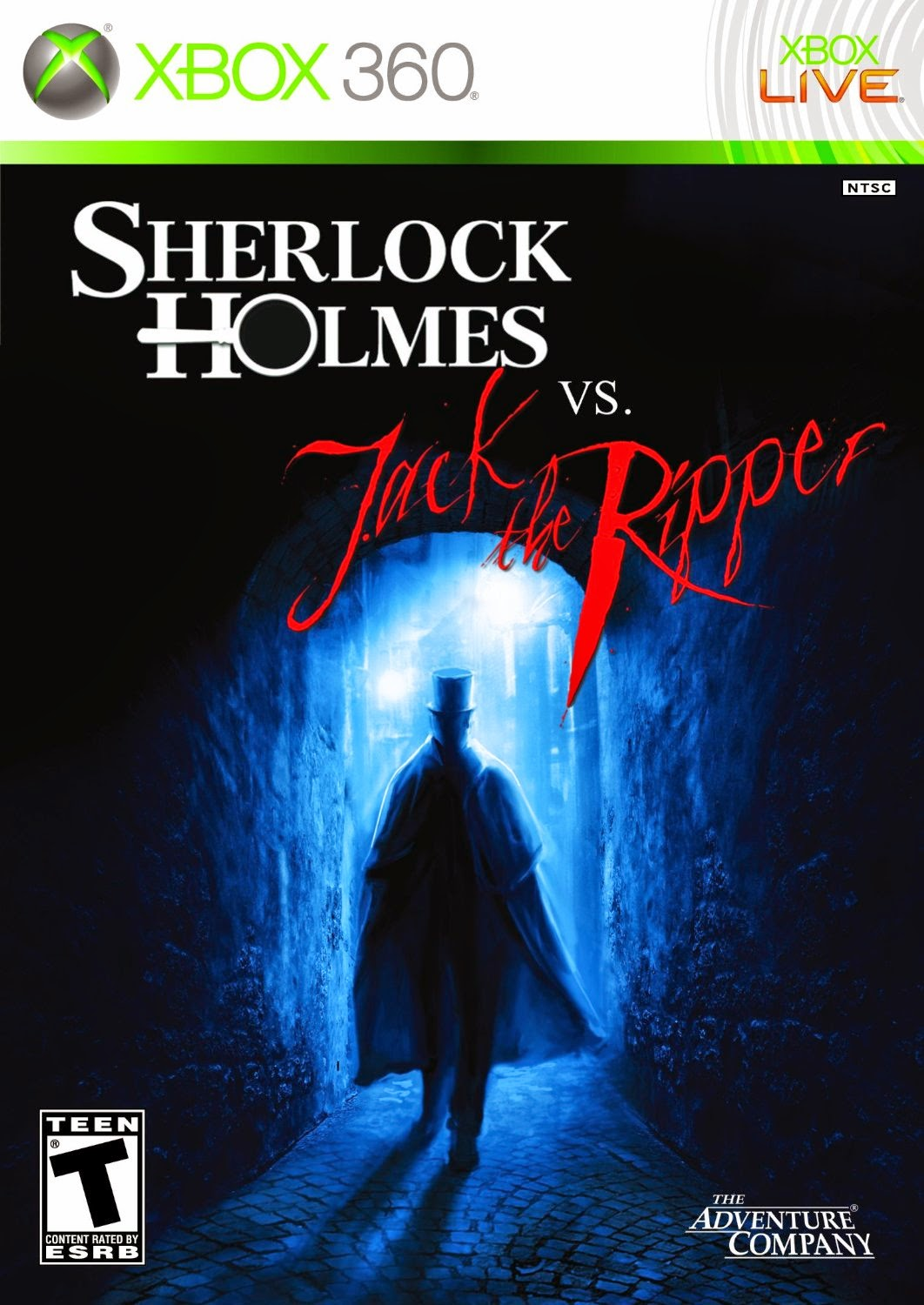 Video game - Sherlock Holmes vs. Jack the Ripper XBox360