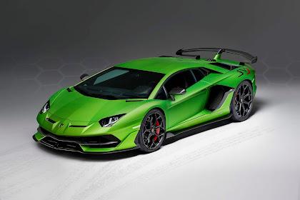 Limited Edition Lamborghini Aventador SVJ