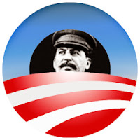 Stalin Obama Logo by Chicago News Bench