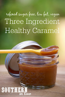Healthy Three Ingredient Caramel Sauce Recipe Sugar Free