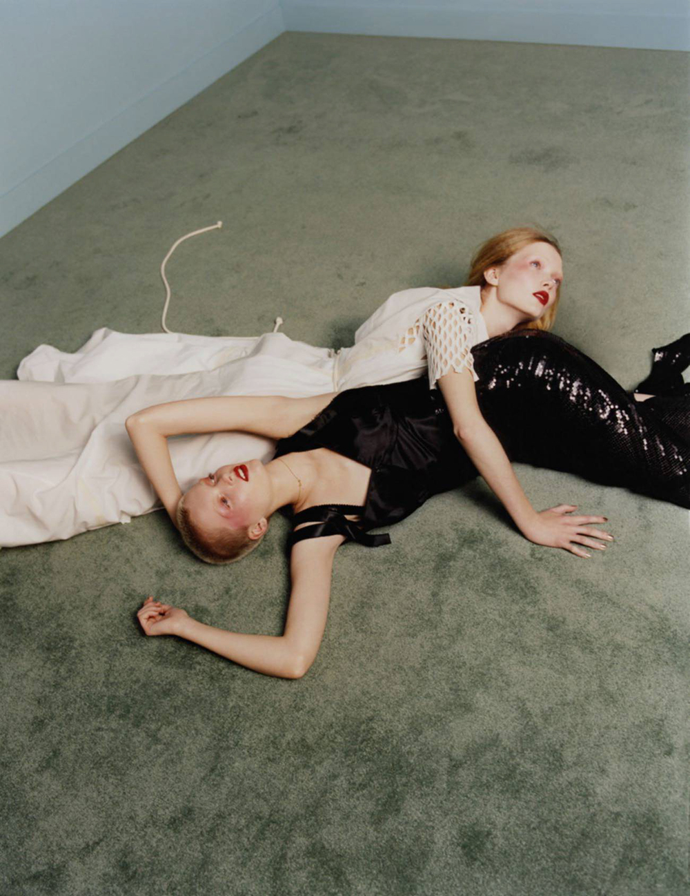 Ruth & May Bell by Harley Weir for Vogue Paris April 2016
