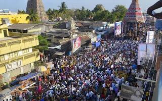 Villianur Temple Car Festival Pondicherry
