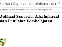 Aplikasi Supervisi Administrasi dan Penilaian Pembelajaran
