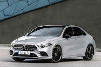 Mercedes-Benz A-Class Saloon (2019) Front Side