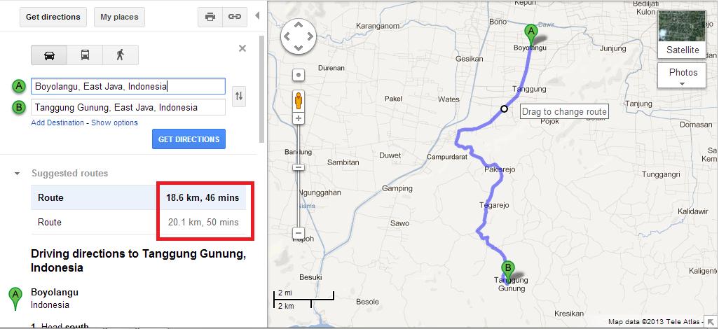 Foto Google ke Pantai Sanggar