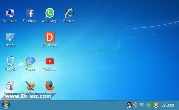 Cara Merubah Tampilan Android Menjadi PC Windows 7 Teruji 100%